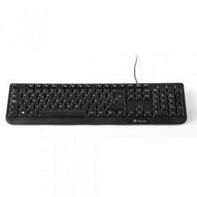 NGS Cocoa Kit tastiera USB QWERTY Italiano Nero
