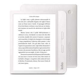 Rakuten Kobo Libra H2O lettore e-book Touch screen 8 GB Wi-Fi Bianco