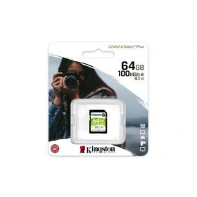 Kingston Technology Canvas Select Plus memoria flash 64 GB SDXC Classe 10 UHS-I