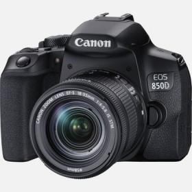 Canon EOS 850D Kit fotocamere SLR 24,1 MP CMOS 6000 x 4000 Pixel Nero