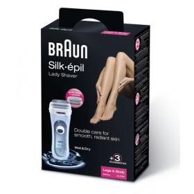 Braun LS 5160 rasoio da donna 1 testina/e Trimmer Blu