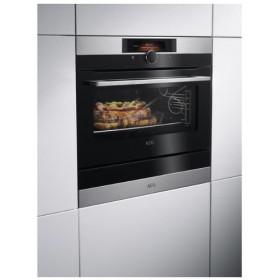 AEG KDK911424M cassetti e armadi riscaldati Nero, Acciaio inossidabile 6 coperti 800 W
