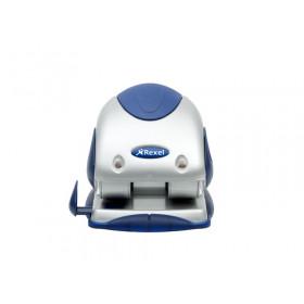 Rexel P240 Precision Perforatore a 2 Fori Precision - Argento/Blu
