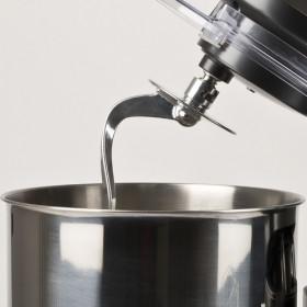 Girmi Gastronomo 8L Sbattitore con base 1400 W Nero, Acciaio inossidabile