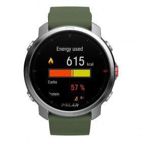 Smartwatch Polar GRIT X Verde Orologio GPS Multisport con Cardiofrequenzimetro al polso IntegratoPronta Consegna
