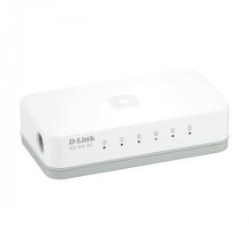 D-Link GO-SW-5E Commutatore di rete non gestita Fast Ethernet (10/100) Bianco switch di rete