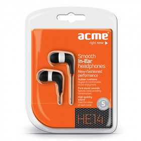 Acme Made HE14 Nero Intraurale Auricolare cuffia