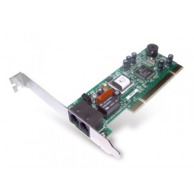 Hamlet Modem fax V.92 Bus PCI 32Bit ricezione fino a 115,2kpbs