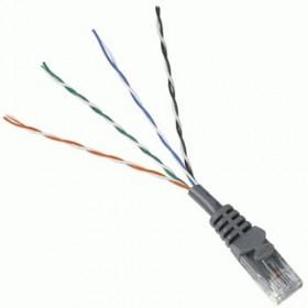 Hama CAT5e Patch Cable UTP, 1,5 m, Grey 1.5m Grigio cavo di rete
