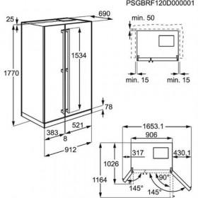 Electrolux EAL 6142 BOX Side by side