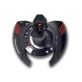 Thrustmaster T.Flight Stick X Joystick PC,Playstation 3 Analogico USB Nero, Rosso, Argento