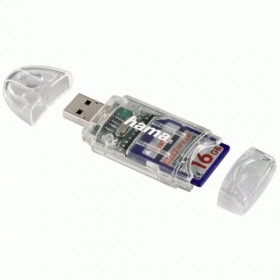 Hama 8in1 SD/MicroSD Card Reader lettore di schede