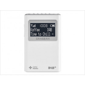 Sangean DPR-39 radio Portatile Bianco