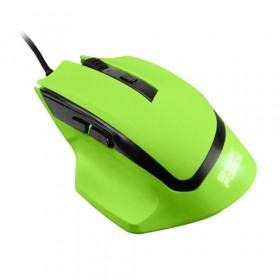 Sharkoon Shark Force Ottico 1600DPI 6 Tasti Verde