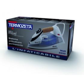 Termozeta Milord 7800 Professional Ferro a vapore Acciaio inossidabile Nero, Blu, Bianco 2200 W