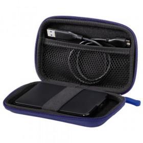 Hama 00095547 custodia per unità di archiviazione Custodia a tasca EVA (Acetato del vinile dell'etilene) Blu