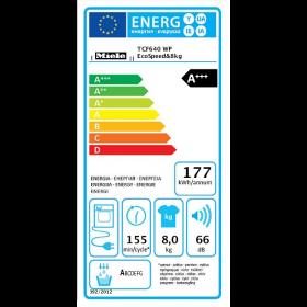 Miele Asciugatrice TCF640WP Ecospeed A+++ 8 KG