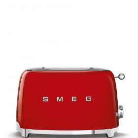 Smeg TSF01RDEU tostapane 2 fette Rosso