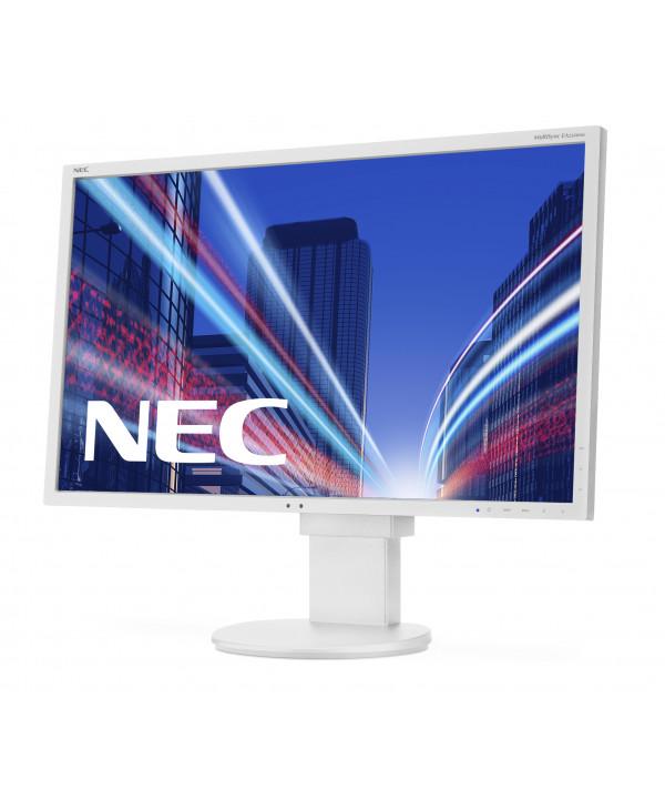 """NEC MultiSync EA224WMi 21.5"""" Full HD IPS Piatto Bianco monitor piatto per PC"""