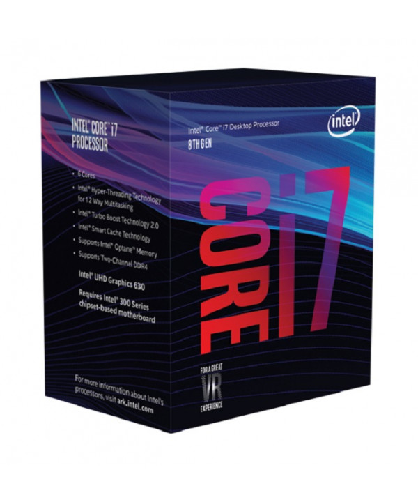 Intel i7-8700 processore 3,2 GHz Scatola 12 MB Cache intelligente
