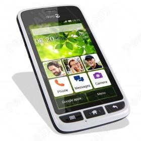 """Doro Liberto 820 mini Smartphone Android 4"""" White Silver"""