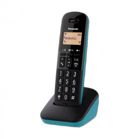 CORDLESS PANASONIC KX-TGB610JTC BLACK/BLUERUBRICA 50 NUMERI -DISPLAY ILLUMINATO