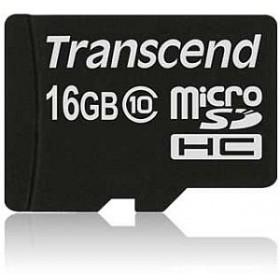 Transcend TS16GUSDC10 16GB MicroSDHC Classe 10 memoria flash