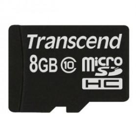 Transcend TS8GUSDC10 8GB MicroSDHC Classe 10 memoria flash