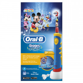 Oral-B Kids Mickey Mouse Bambino Spazzolino rotante-oscillante Multicolore