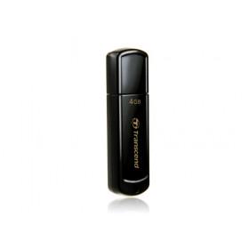 Transcend JetFlash 350 unità flash USB 4 GB 2.0 Connettore USB di tipo A Nero