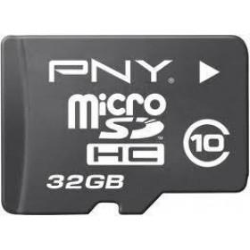 PNY MicroSD memoria flash 32 GB Classe 10