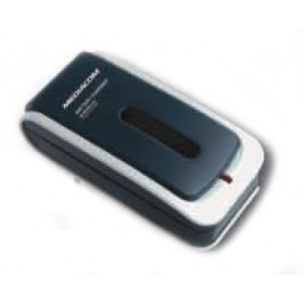 Mediacom Battery Charger Esterno Nero, Argento