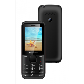 NEW MAJESTIC TELEFONO LUCKY 56 2.4' LCD A COLORI, DUAL SIM, GSM,0.3 MPX,RADIO, BLUETOOTH
