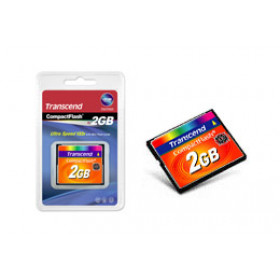 Transcend TS2GCF133 memoria flash 2 GB CompactFlash