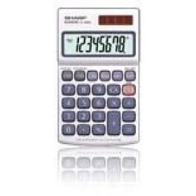 Sharp EL-250S calcolatrice Tasca Calcolatrice di base Argento