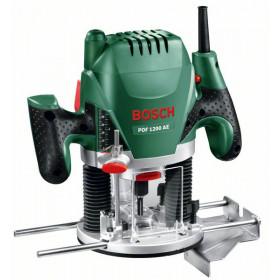 Bosch POF 1200 AE router a corrente 1200 W 11000 - 28000 Giri/min Nero, Verde, Rosso, Argento