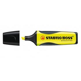 STABILO Boss Executive evidenziatore 1 pezzo(i) Giallo Pennello/punta sottile