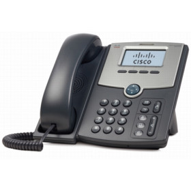 Cisco SPA512G telefono IP Nero, Argento Cornetta cablata LCD 1 linee