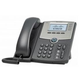Cisco SPA514G telefono IP Grigio Cornetta cablata LCD 4 linee