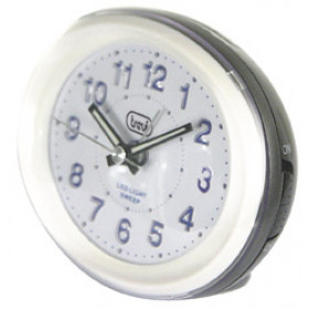 Trevi SL 3052 Quartz table clock Nero, Bianco Ovale