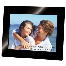 "Trevi DGF 2218 S cornice per foto digitali 20,3 cm (8"") Nero"