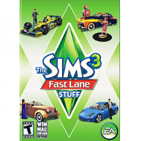 Electronic Arts The Sims 3 Fast Lane Stuff, PC PC videogioco