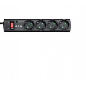 Eaton PS4D protezione da sovraccarico 4 presa(e) AC 220 - 250 V Nero, Bianco 1 m