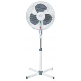 DCG Eltronic VE1625 Ventilatore domestico con pale 45W Nero, Bianco ventilatore