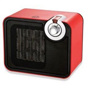 DCG Eltronic SA9107 Nero, Rosso 1500W Radiatore stufetta elettrica