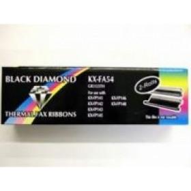 Panasonic KX-FA54X Fax ribbon 210pagine Nero 2pezzo(i) ricambio per fax