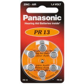 Panasonic V13 6-BL (PR48/PR13H) Batteria monouso Zinco-aria