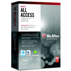 McAfee All Access 2013 Individual - Package completo ( 1 anno ) - 1 ut Base license 1utente(i) 1anno/i ITA