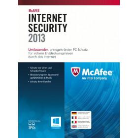 McAfee Internet Security 2013, 3u, DEU, FRE, ITA, ENG 3utente(i) Tedesca, Inglese, Francese