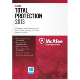 McAfee Total Protection 2013, 3u, DEU, FRE, ITA, ENG 3utente(i) Tedesca, Inglese